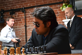 Echecs à Saint-Louis ronde 3 : Magnus Carlsen 1/2 Hikaru Nakamura - Photo © Chessbase
