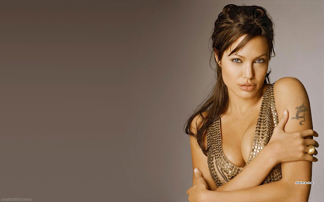 Angelina Jolie Sweet Wallpaper