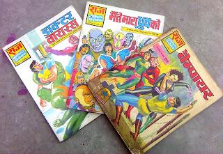 Raj Comics, Dhruva Comics