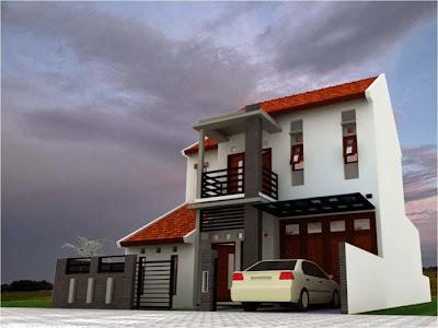 Bentuk Rumah Mewah Terbaru 2014