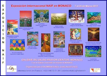 Exposición internacional de Naïf en Monaco