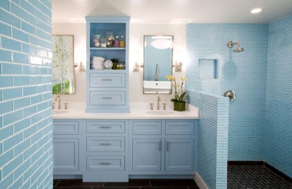 Decoración Cuarto de Baño Azul - Decoración del hogar y el diseño