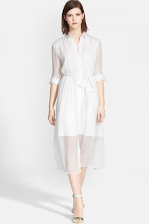 Alice + Olivia 'Maia' Belted Shirtdress