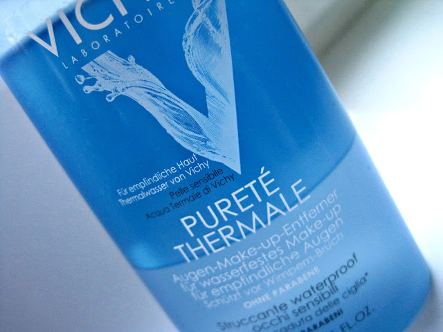 Pureté Thermale Soothing Eye Make Up Remover For Sensitive Eyes review swatch