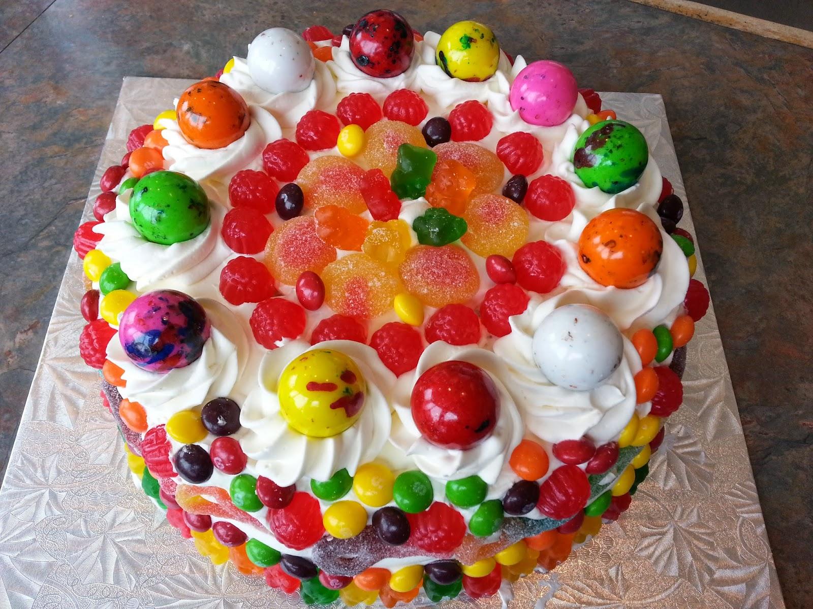 ... spéciale pour une ado qui adore les bonbons gâteau bonbons genny4