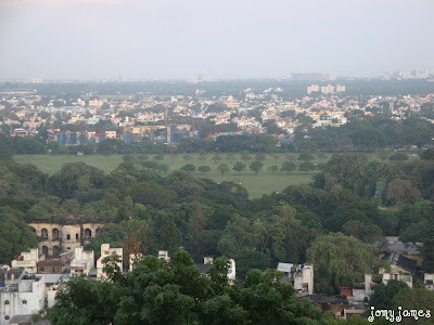 Chennai City View From St Thomas Mount