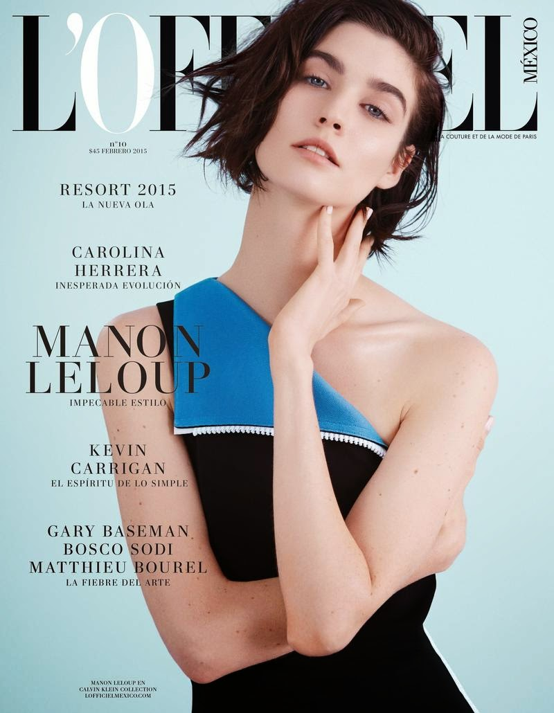 Model: Manon Leloup for L'Officiel Mexico