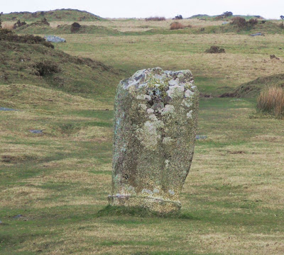 Stone from the Hurlers, Bodmin Moor, Cornwall