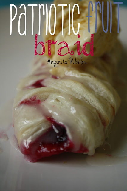 Patriotic Fruit Braid