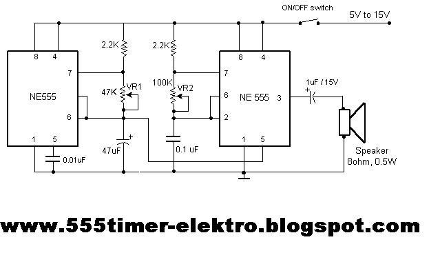 555 timer circuits
