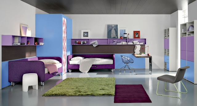 id e d co chambre adolescent. Black Bedroom Furniture Sets. Home Design Ideas