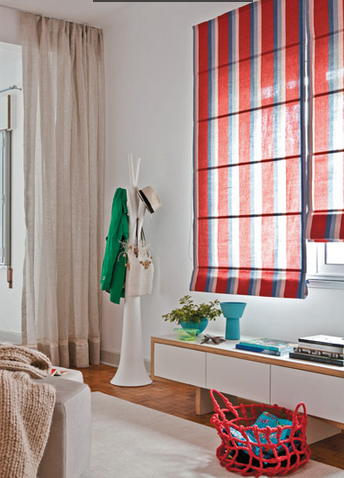 cortinas y persianas para decorar interiores