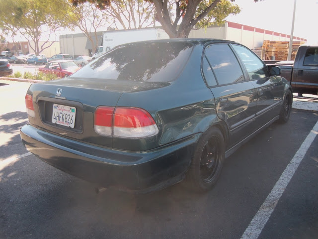 Almost Everything's Car of the Day is a 1998 Honda Civic--Before Painting