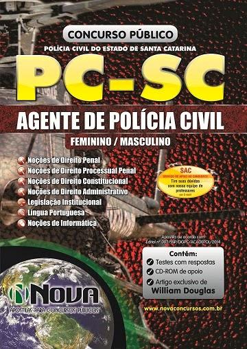 Apostila Agente de Polícia Civil Polícia Civil de Santa Catarina 2014