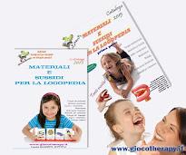 Catalogo Materiale Logopedia