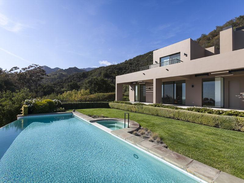 Beautiful modern house in montecito near santa barbara california