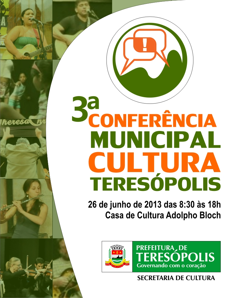 3ª Conferência Municipal de Cultura de Teresópolis