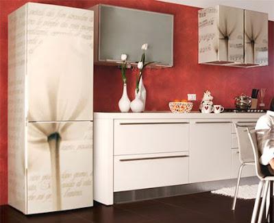 Vinil decorativo para frigoríficos