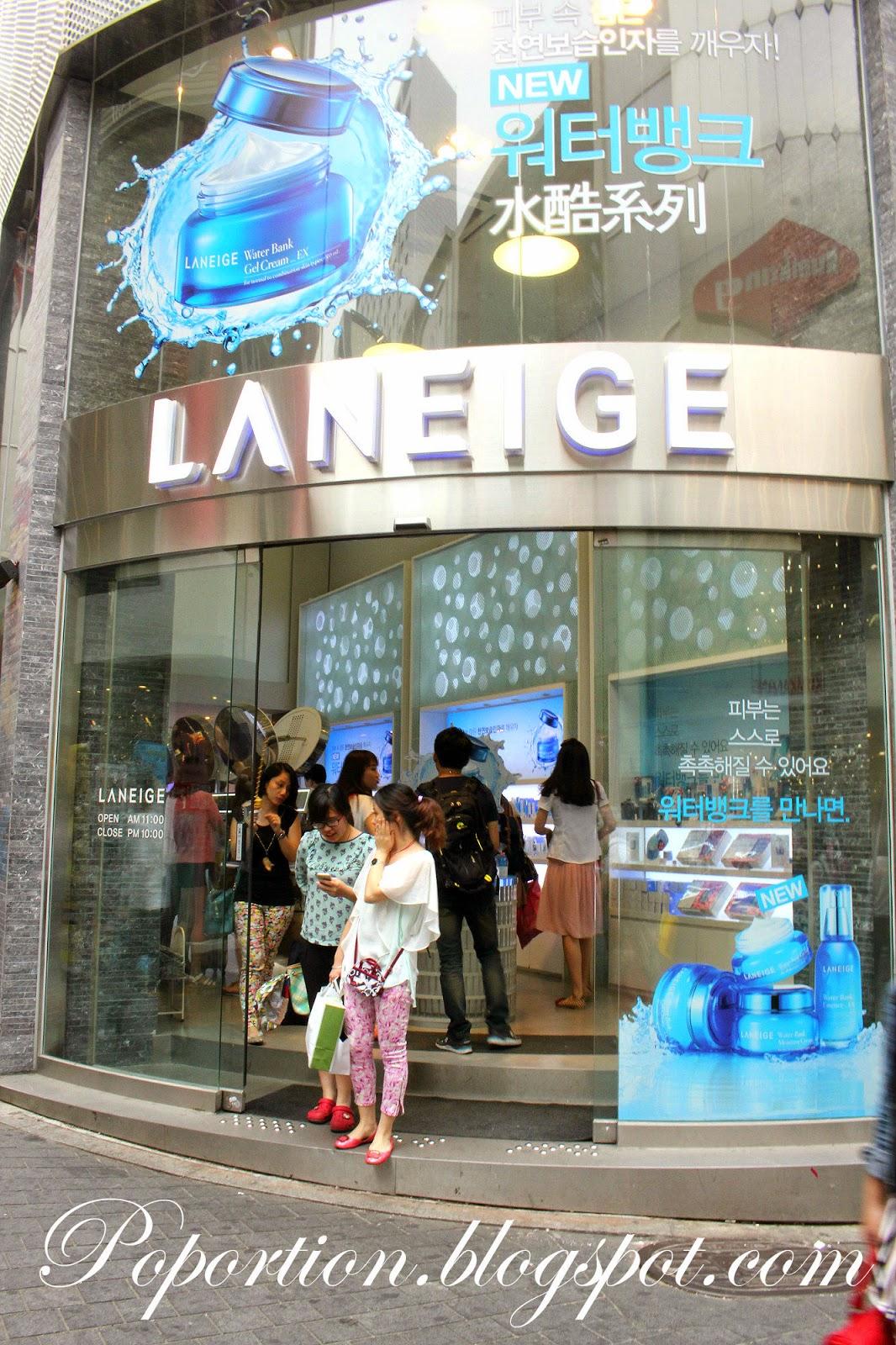 laneige korea myeongdong