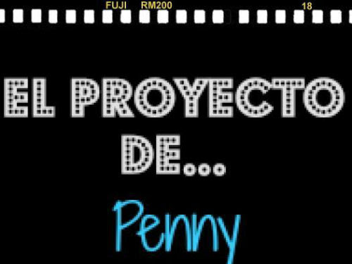 "El proyecto de Penny ""the big bang theory"""