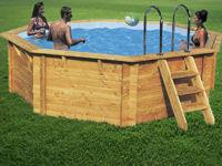 Piscinas y piletas piscinas de madera for Construir pileta natacion