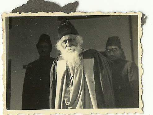 Famous Bengali Indian Poet Rabindranath Tagore