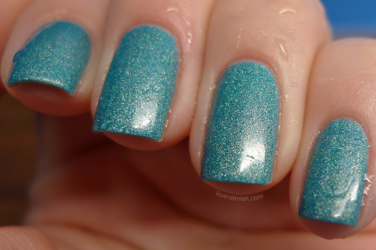 Liquid Sky Lacquer Teal It Like It Is cold
