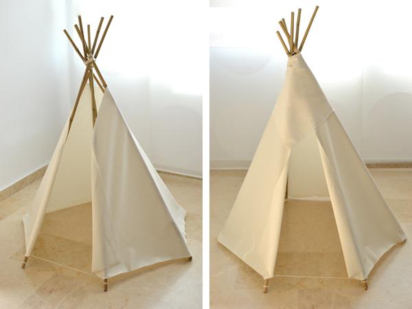 la chica de la casa de caramelo diy tipi indio para ni os. Black Bedroom Furniture Sets. Home Design Ideas