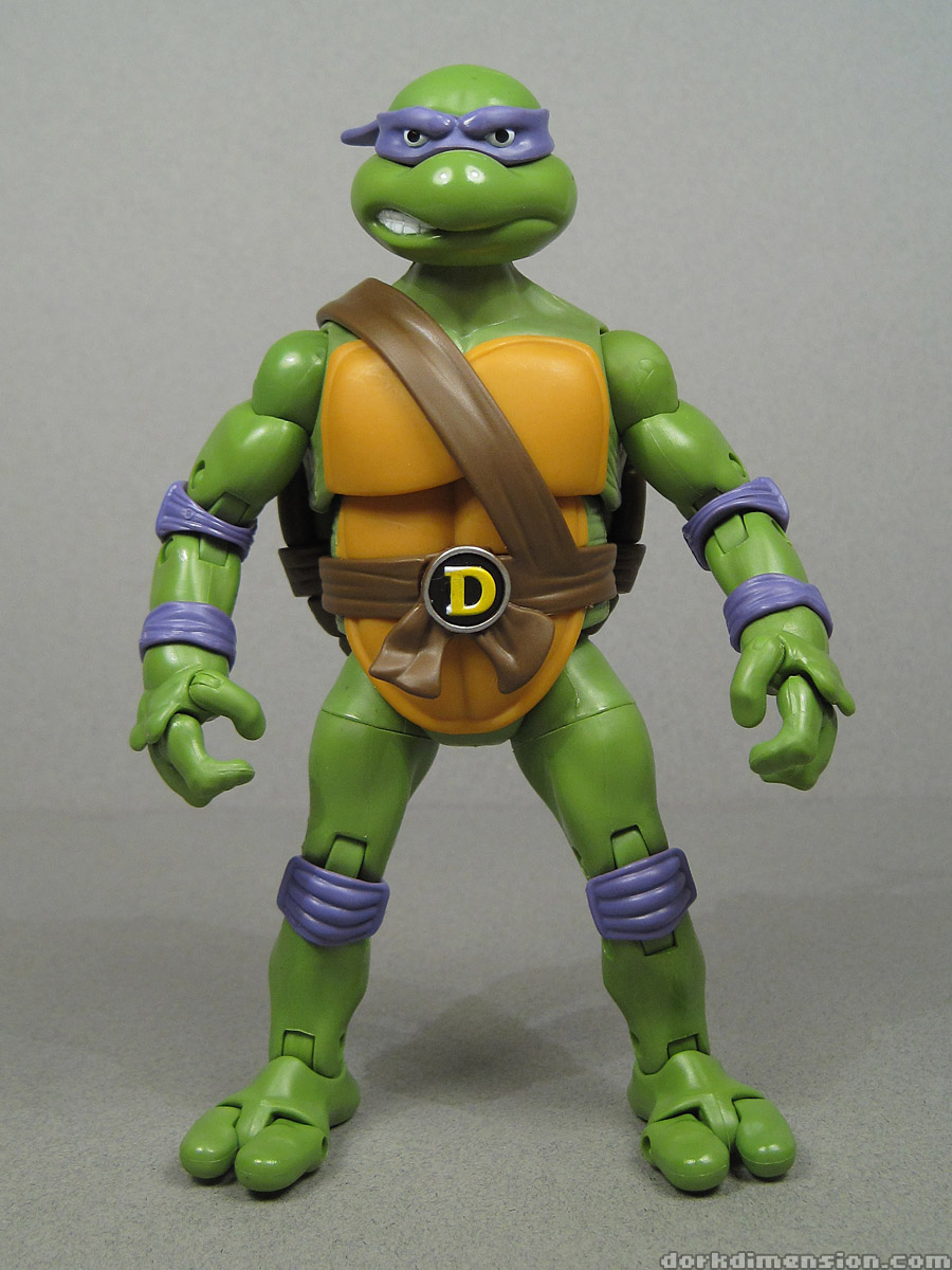 Turtle Toys For Turtles : Dork dimension toy review tmnt classic collection donatello