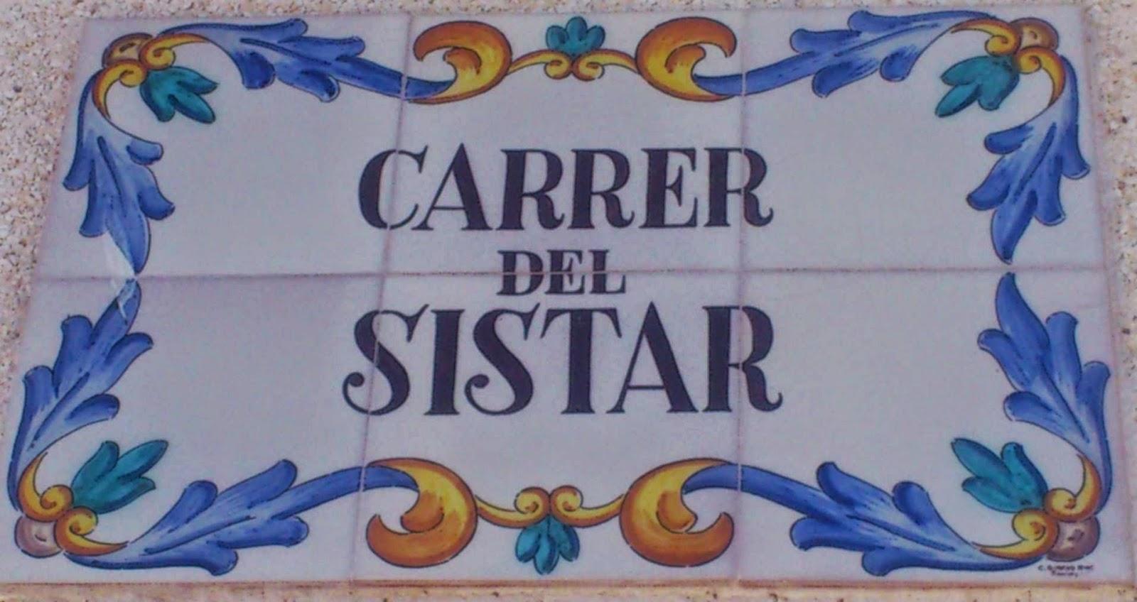 Carrer del Sistar