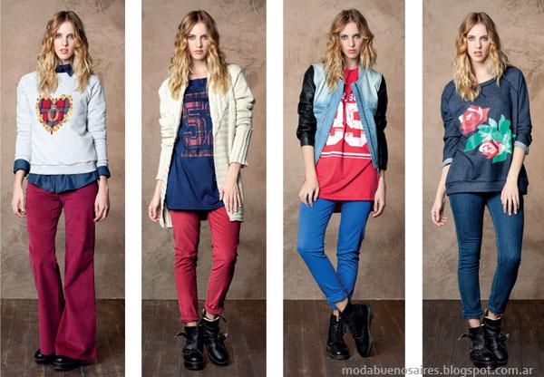 Nucleo Moda otoño invierno 2014. Moda pantalones invierno 2014 mujer.