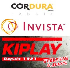 CORDURA fabric featured in Kiplay workwear garments
