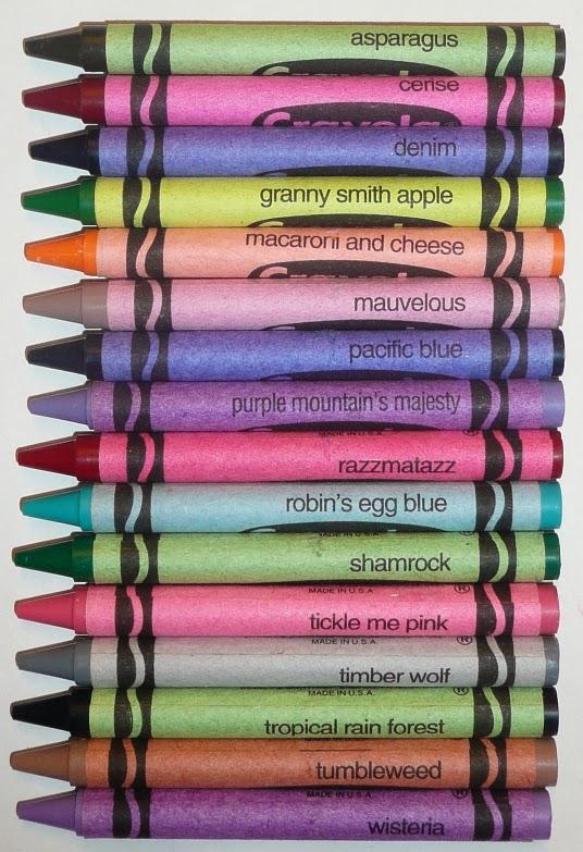 Purple Crayola Crayon The Crayon Blog: Crayo...
