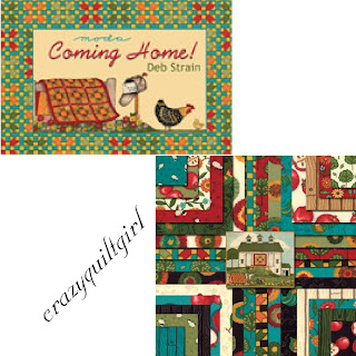 Moda COMING HOME Quilt Fabric by Deb Strain
