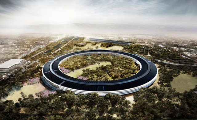 apple 39 s new headquarters in cupertino damn cool pictures. Black Bedroom Furniture Sets. Home Design Ideas
