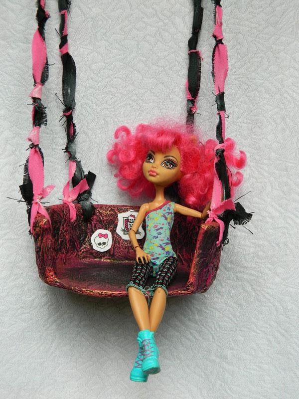 Как сделать свою куклу монстр хай своими руками 5