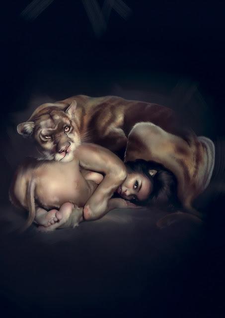 O erotismo na arte digital de Robi Pena