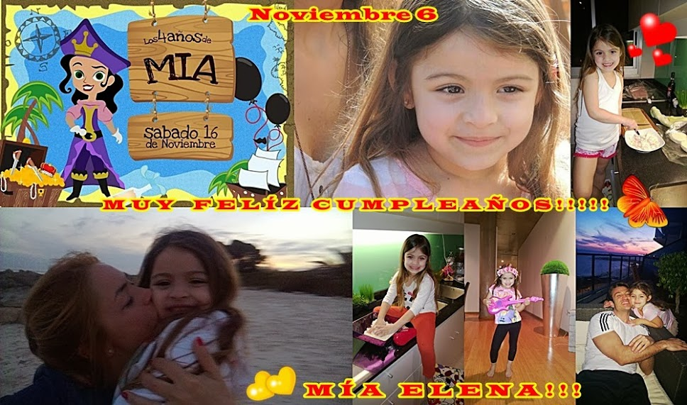 Cumpleaños Mía Elena