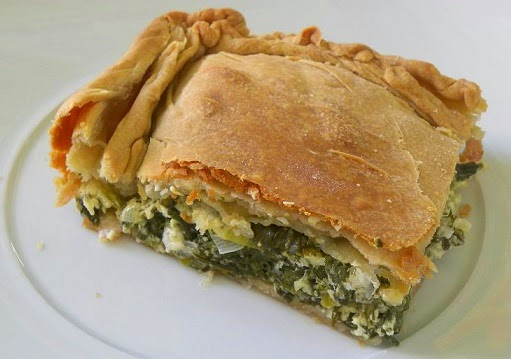 Spinach pie, Mediterranean Diet, The Cretan Diet,
