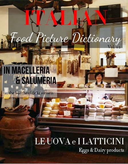 ITALIAN: Food Picture Dictionary VOL. 02 from Via Optimae