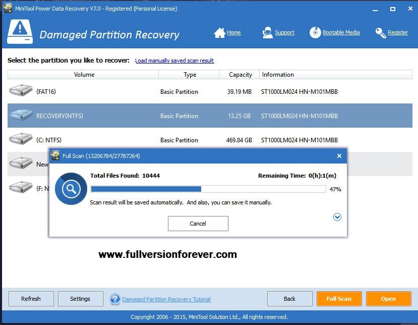 Minitool Power Data Recovery Free Edition Free Download | Upcomingcarshq.com