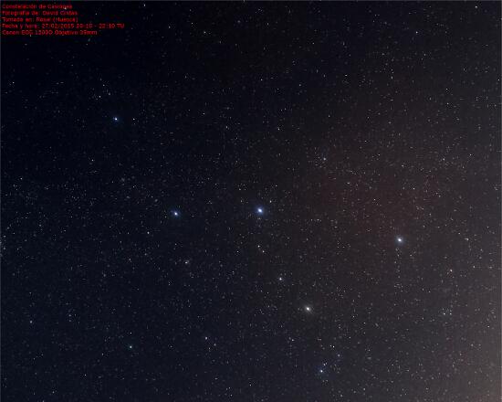 Constelacion de Casiopea - El cielo de Rasal