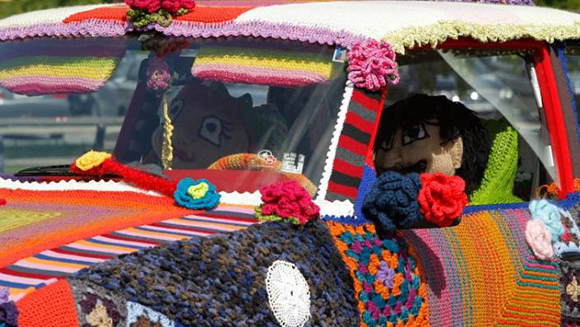 Knitted Norwegian Art Car Central