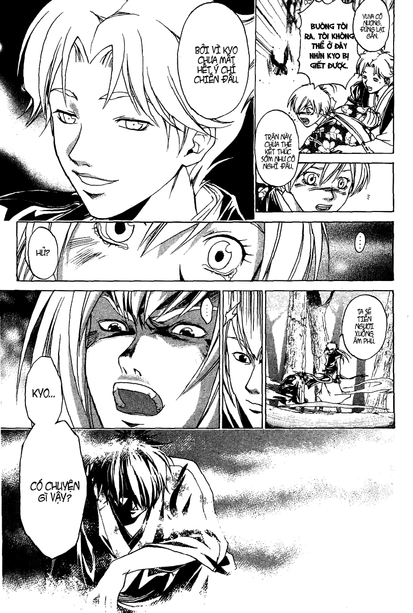 Mắt Quỷ Kyo-Samurai Deeper Kyo chap 91 Trang 21