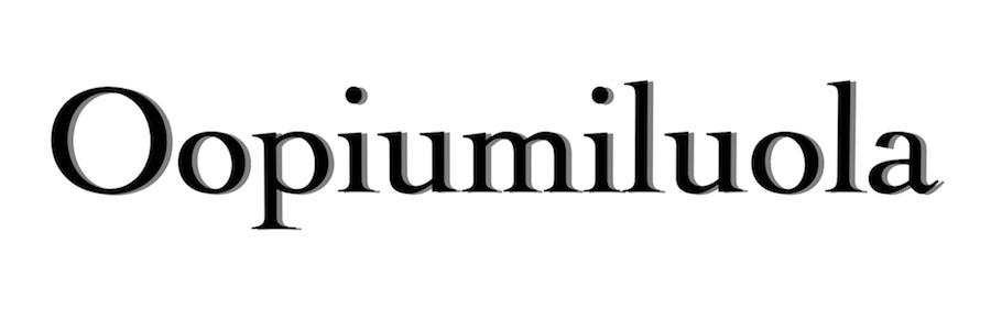 Oopiumiluola