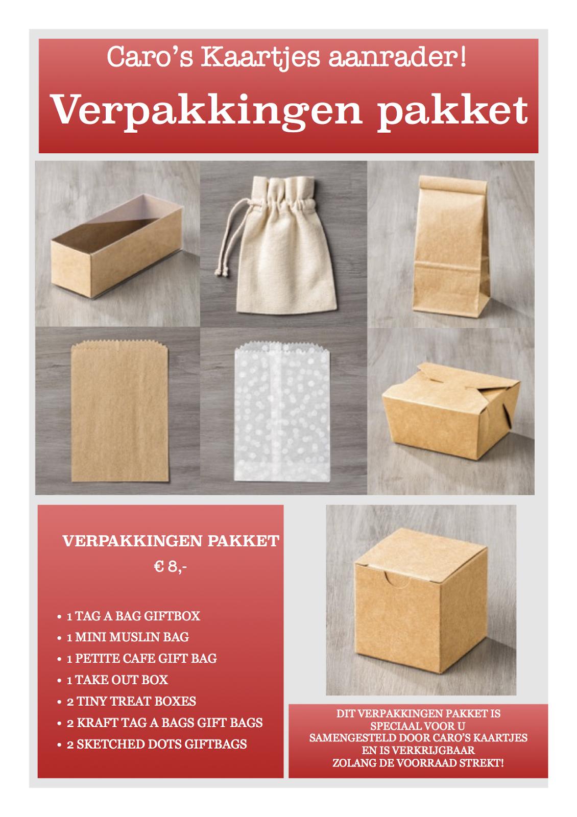 Verpakkingen pakket