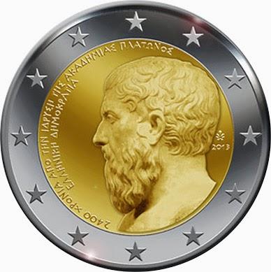 2 euro Greece 2013, Plato's Academy