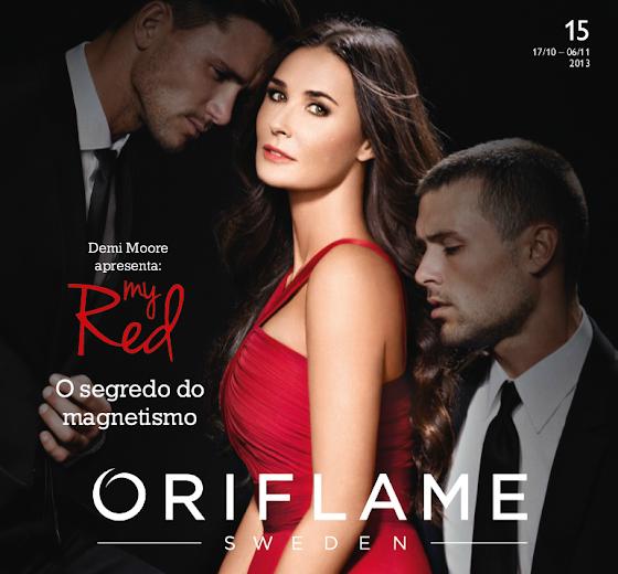 Catálogo 15 de 2013 da Oriflame