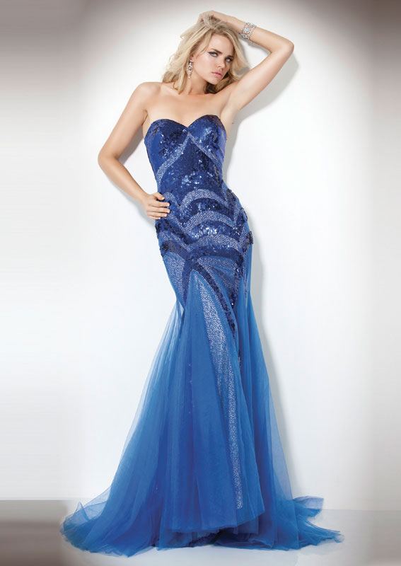 Blue Jovani Prom Dresses
