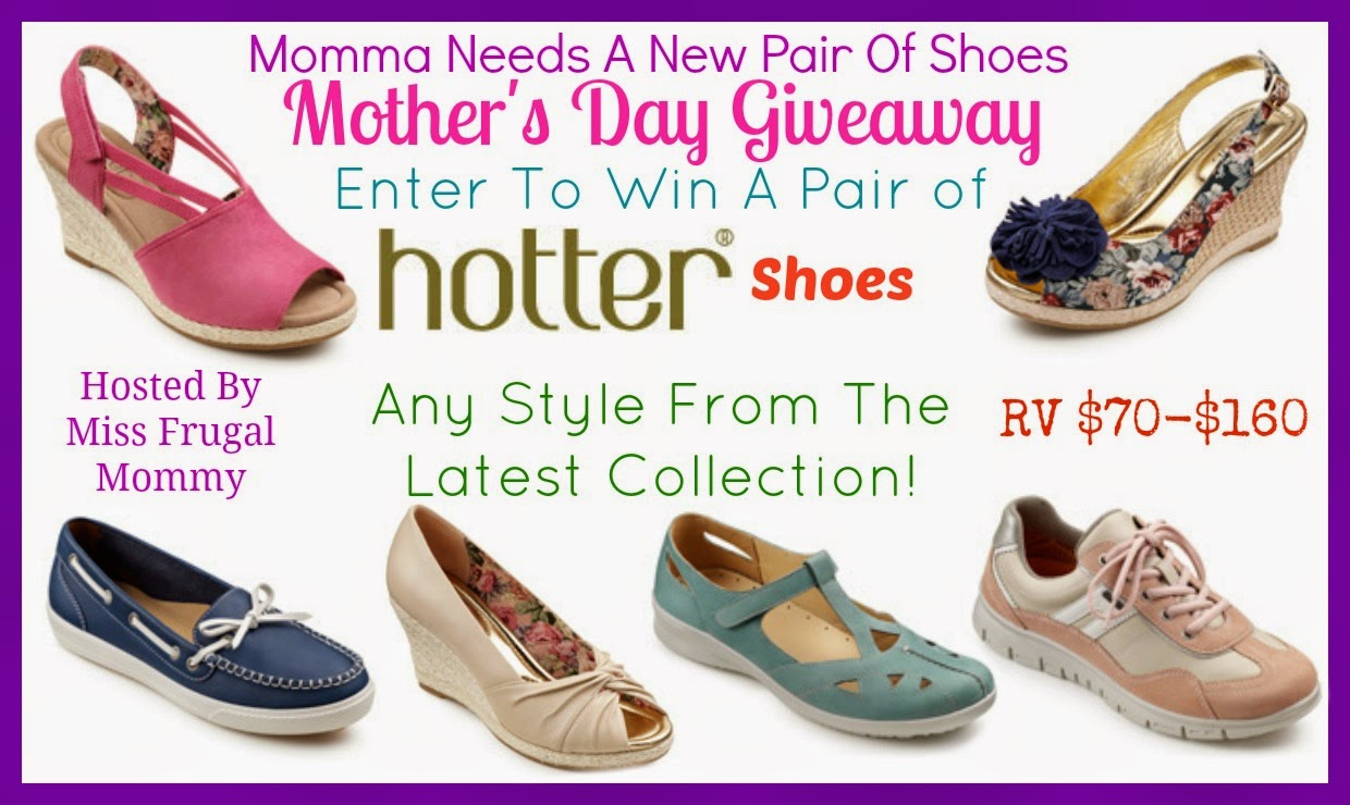 Momma Needs a New Pair of Shoes! Hotter Shoes Giveaway!